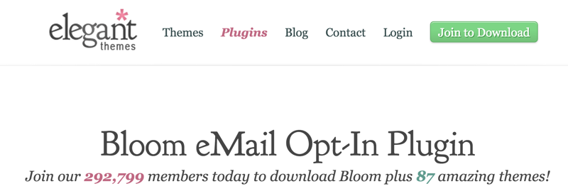 Bloom email plugin